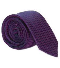 gravata gv - roxo