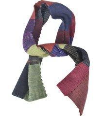 de clercq colourblock woven scarf