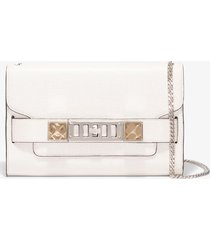 proenza schouler chain ps11 clutch 1036 clay/white one size