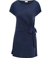 klänning viatetsy s/s knot tunic