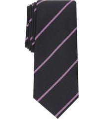 alfani men's hadley stripe tie, created for macy's