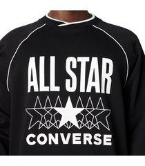 converse sudadera all star black