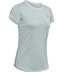 camiseta de mujer para correr under armour ua streaker 2.0 short sleeve
