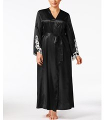flora by flora nikrooz plus size satin stella robe