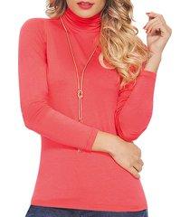 blusa iron coral  para mujer croydon