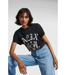 alix the label 2102892898 ladies knitted alix university t-shirt