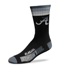 for bare feet alabama crimson tide platinum deuce socks