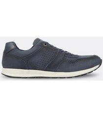 sneakers de cuero para hombre 11922