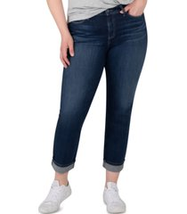 silver jeans co. trendy plus size avery cropped straight jeans