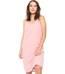 vestido abk rosa vero moda - calce regular
