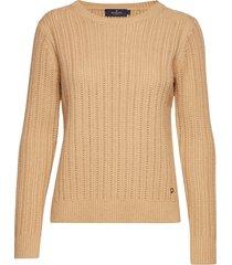 elicia knit stickad tröja beige morris lady