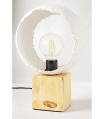 lampa stołowa drewno papier 025 manolito