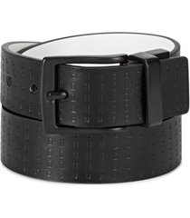 levi's big boys reversible casual belt with embossed strap