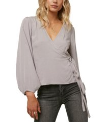 o'neill juniors' barrymore wrap top