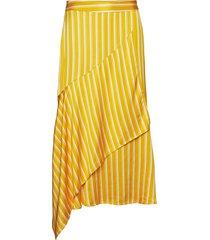 rafaela sk knälång kjol gul part two