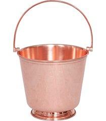 balde de gelo em cobre