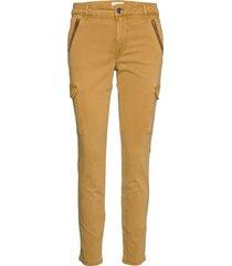 pxelva pant byxa med raka ben gul pulz jeans