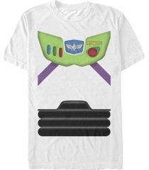 disney pixar men's toy story buzz lightyear suit costume short sleeve t-shirt