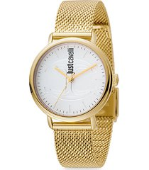 cfc goldtone stainless steel bracelet watch
