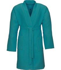 badjas van vossen turquoise