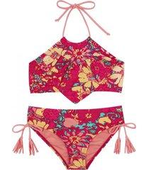 bikini vuelos uv30 rojo h2o wear