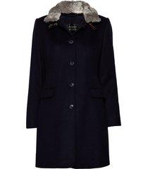 jacket wool yllerock rock blå betty barclay