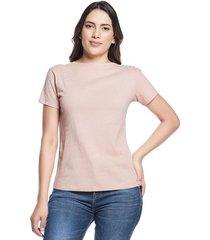 camiseta animal print palo de rosa