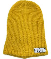 gorro de lana amarillo fight for your right beanis massacre