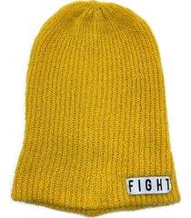 gorro de lana amarillo fight for your right beanis massacre