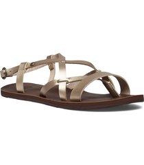 layton shoes summer shoes flat sandals brun roxy