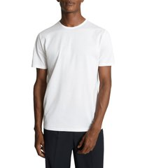 men's reiss balham solid crewneck t-shirt, size xx-large - white