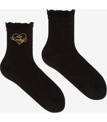 jersey socks black 36