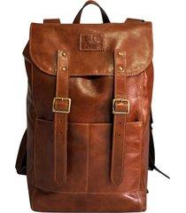 mochila line store leather adventure couro whisky rústico.