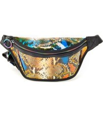 like dreams snakeskin hologram fanny pack
