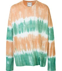 wooyoungmi relaxed tie-dye jumper - multicolour
