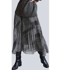 rok alba moda antraciet::grijs