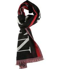 alexander mcqueen oversize selvedge scarf