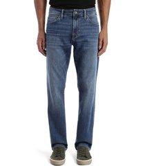 men's big & tall mavi jeans matt relaxed fit jeans, size 34 x 36 - blue