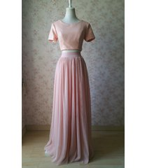 gold blush sequin tops short sleeve sequin crop tops wedding bridesmaid top plus
