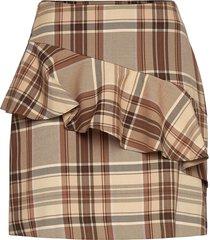 day sparrow kort kjol brun day birger et mikkelsen