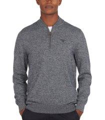 barbour men's sporty quarter-zip sweater