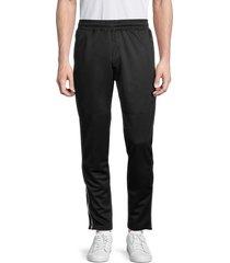 spyder men's zip-cuff track pants - black - size xl