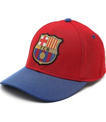 gorra rojo-azul barcelona