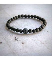 agat - kamień równowagi - męska bransoletka