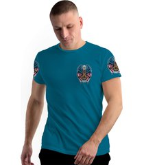 camiseta stompy new collection american guardian azul - kanui
