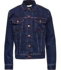auth western jacket blue jeansjack denimjack blauw wrangler