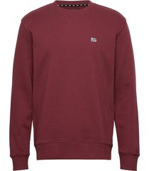 crew sws sweat-shirt trui rood lee jeans