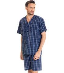 pijama antônio abotoado