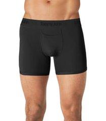 tommy john second skin 4-inch boxer briefs, size medium in black at nordstrom