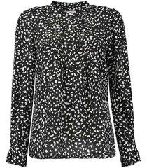 blouse livia zwart